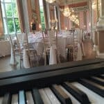 Pianist at Danesfield House Hotel